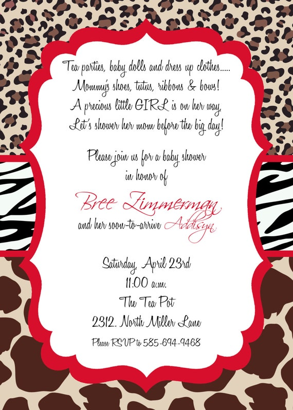 Free Email Baby Shower Invitations for great invitations sample