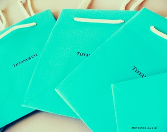Authentic signature Tiffany & Co. Small Gift bag Perfect for Wedding favors Brand New Quantity 1