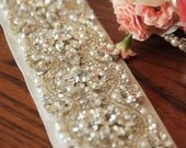 "24"" Bridal Belt Bridal Dress Belt Sash Belt Pearls Belt Rhinestone Belt Crystal Belt Rhinestones and Pearls Sash Bridal Sash Wedding Sash"