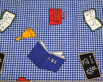 Fat Quarter Cute Back to School Fabric