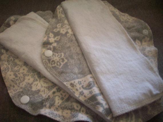 Single LadyWear Quick-Dry cloth menstrual pads - Heavy/Overnight/Post Partum Flow