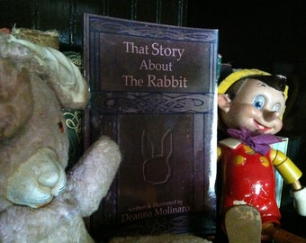 That Story About The Rabbit  -- Book, signed