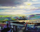 SALE ITEM - Spring Air, Midgley Moor. ( Limited Edition Print Size 2 )