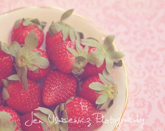 Sweet Strawberries Photography Print