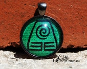 Earth Kingdom Pendant inspired by Avatar the Last Airbender