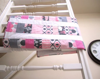 Zoology Girl Quilt -- Toddler or Baby Quilt