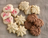 Customized Butter Cookie Sampler