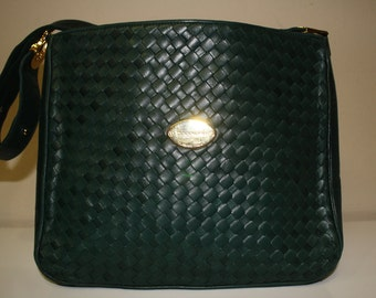 Caggiano green purse from Stylefinders