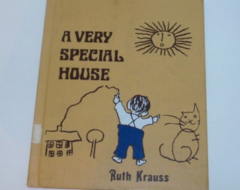1953 A Very Special House Children's Book