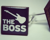 The Boss Guitar Cufflinks