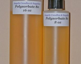 4 oz POLYSORBATE 80 TWEEN 80 Surfactant Emulsifier
