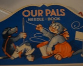 Vintage Our Pals needle book made in West Germany