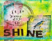 It's Your Day to Shine (Blank) Greeting Card with Envelope, Birthday Card, Graduation Card, Wedding Card, Wholesale Cards