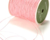 Pink Burlap String . 15 yards (45 feet)