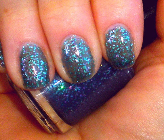 Items Similar To Color Changing Glitter Nail Polish Mood Nail Polish Mermaid Temperature