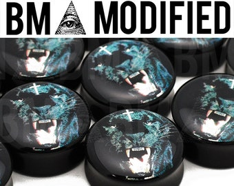 """Black Panther BMA Modified Plugs 11/16"""" (18mm) Pair"""