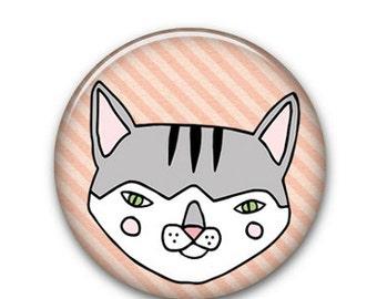 "Mush Cat 1"" Button"