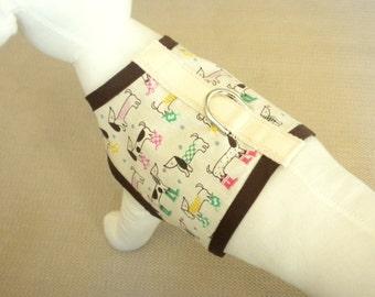 April Showers Dog Harness Vest