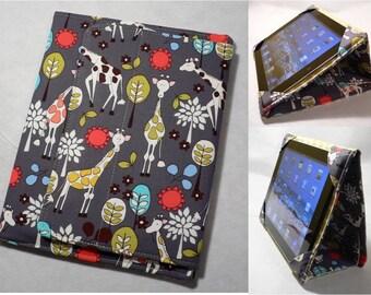 iPad Cover Hardcover Case, iPad1, iPad 2, iPad 3, iPad 4 , iPad Mini, Giraffe