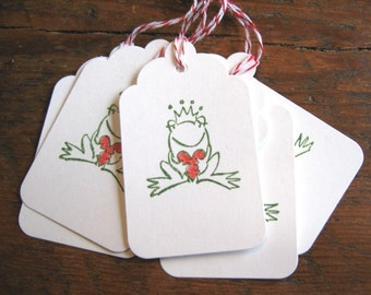Frog Prince Gift Tags, Valentine Tags