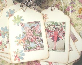 Fairy Gift Tags, Fairy Party Tags, Fairy Birthday Tags