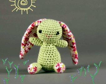Floppy-eared Amigurumi Baby Bunny