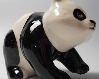 Vintage Beswick Panda Ceramic Figurine