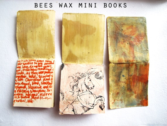 Beeswax Mini Books