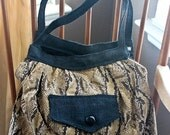 Love It Sale Mini Snake Print Hobo Bag
