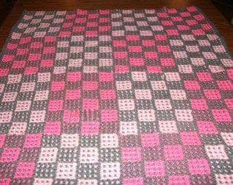 Chessboard Baby Blanket