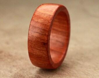 Size 6.75 - Chakte Viga Wood Ring No. 23