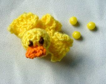 Crochet Baby Chick Jellybean Pooper, Easter