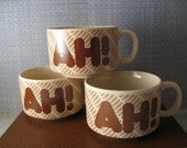 AH Soup Mugs - Set of Three (3)
