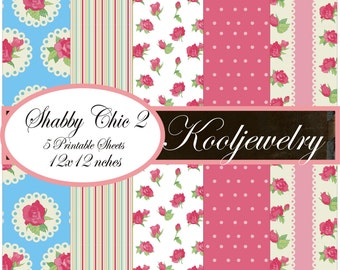 Shabby Chic 2 Paper Pack No.78