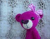 Artist Bear Thread Teddy OOAK Valentines Day Gift