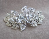 Hair Clip / Fancy Rhinestone Bridal Hair Clip / Wedding Hair Clip / Special Occasion