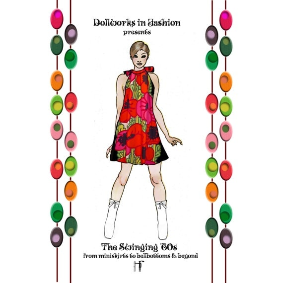 Items Similar To The Swinging 60s Paper Doll Book Of Vintage Fashion On Etsy