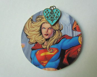 Supergirl Oversized Necklace