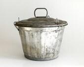 Vintage Tin Jello Mold