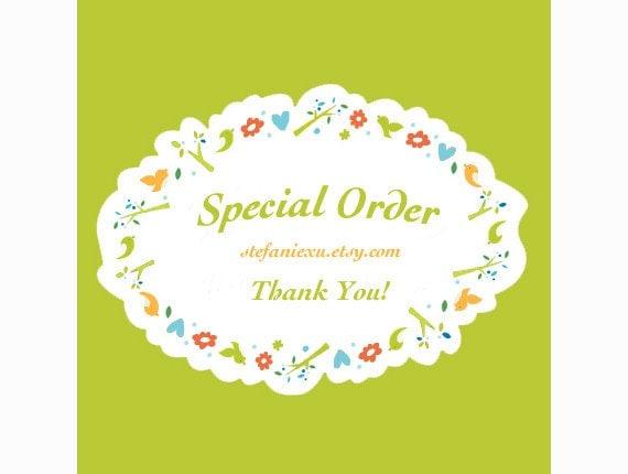 Special order for d  OldWestGems