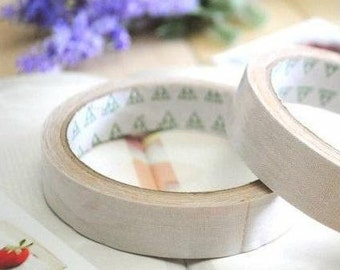 Fabric Sticker Tape White Cotton Packaging