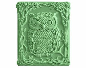 Owl Soap  -  Decorative Gift Soap  -  Organic  Soap -  Glycerin Soap - Natural Soap - Moisturizing Soap  - Fragrance Oil Cucumber Melon