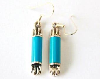 TURQUOISE //// Sterling Silver Earrings