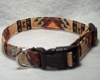 Southwest Dog Collar or Cat Collar