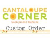 Custom order for Amber Adank