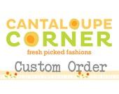 Custom order for Forest Tots - Cecilia Marzo