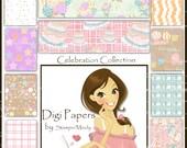 Celebration Digi Paper Collection