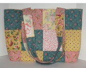 Annie's Patchwork Crafter's Tote