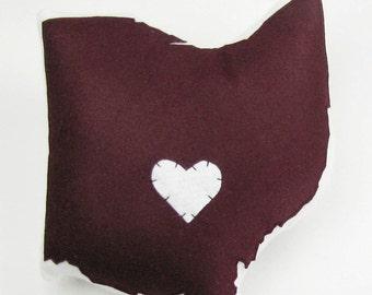 Customizable Ohio State Pillow