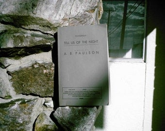 Watchman Tell Us of the Night by A. B. Paulson paperback proof